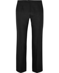 Pantalon de costume en laine noir Chloé