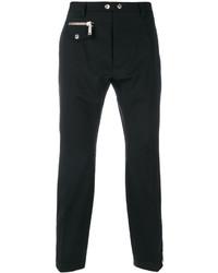 Pantalon de costume en laine noir DSQUARED2