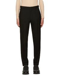 Pantalon de costume en laine noir Juun.J