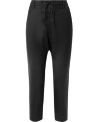 Pantalon de costume en laine noir Nili Lotan