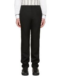 Pantalon de costume en laine noir Raf Simons