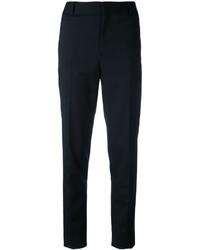 Pantalon de costume en laine noir Saint Laurent