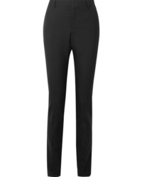 Pantalon de costume en laine noir Saint Laurent