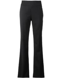 Pantalon de costume en laine plissé noir IRO