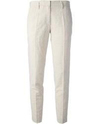 Pantalon de costume en lin beige Forte Forte