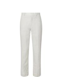 Pantalon de costume en lin blanc Club Monaco