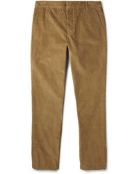 Pantalon de costume en velours côtelé marron clair Band Of Outsiders