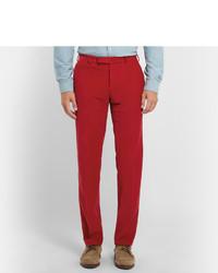 Pantalon de costume en velours côtelé rouge Polo Ralph Lauren