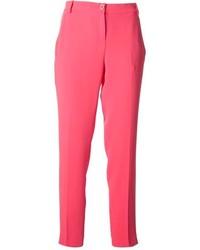 Pantalon de costume fuchsia