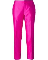 Pantalon de costume fuchsia Raoul