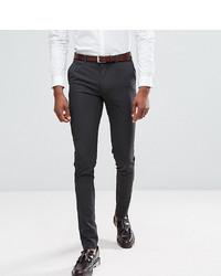 Pantalon de costume gris foncé ASOS DESIGN