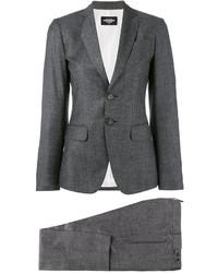 Pantalon de costume gris foncé Dsquared2