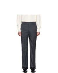 Pantalon de costume gris foncé Lemaire