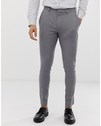 Pantalon de costume gris ASOS DESIGN