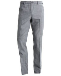 Pantalon de costume gris Benetton
