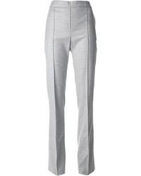 Pantalon de costume gris Blumarine