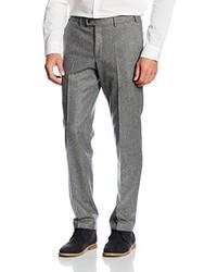 Pantalon de costume gris Hiltl