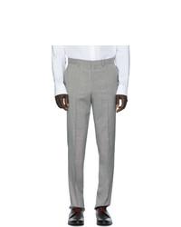 Pantalon de costume gris Hugo