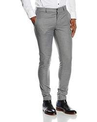 Pantalon de costume gris Jack & Jones