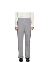 Pantalon de costume gris Lemaire