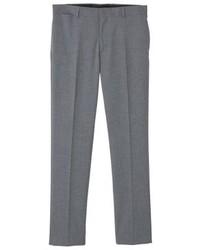 Pantalon de costume gris Mango