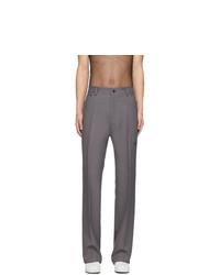 Pantalon de costume gris Random Identities