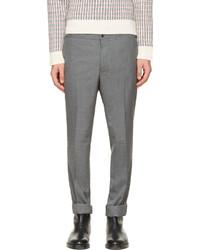Pantalon de costume gris Thom Browne