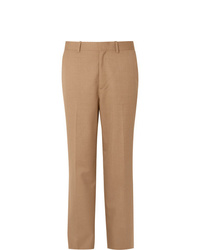 Pantalon de costume marron clair Auralee