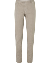 Pantalon de costume marron clair Boglioli