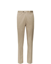 Pantalon de costume marron clair Canali