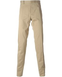 Pantalon de costume marron clair DSQUARED2