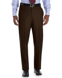 Pantalon de costume marron foncé