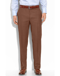 Pantalon de costume marron