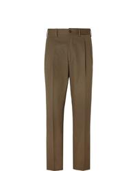 Pantalon de costume marron Berg & Berg