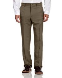 Pantalon de costume marron Farah Classic