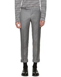 Pantalon de costume marron Thom Browne
