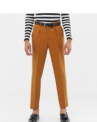 Pantalon de costume moutarde ASOS DESIGN