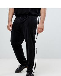 Pantalon de costume noir et blanc ASOS DESIGN