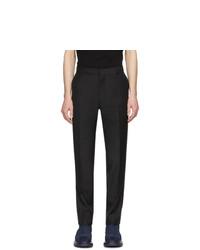 Pantalon de costume noir Alexander McQueen