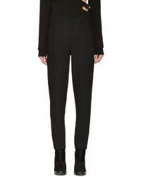 Pantalon de costume noir Anthony Vaccarello