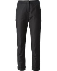 Pantalon de costume noir Armani Collezioni