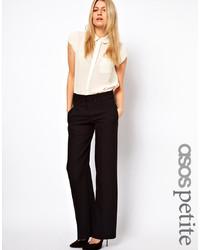 Pantalon de costume noir Asos Petite