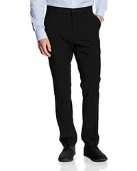Pantalon de costume noir CASUAL FRIDAY