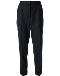 Pantalon de costume noir Dolce & Gabbana
