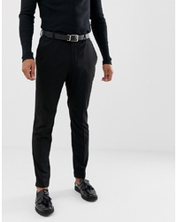 Pantalon de costume noir Pier One