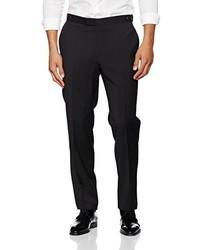 Pantalon de costume noir Pierre Cardin