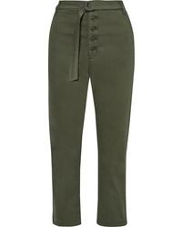 Pantalon de costume olive 3x1