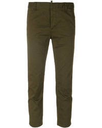 Pantalon de costume olive Dsquared2