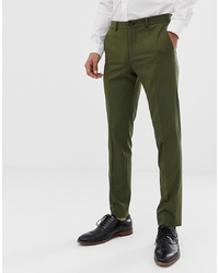 Pantalon de costume olive Jack & Jones