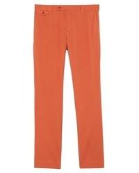 Pantalon de costume orange